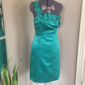 Antonio Melani · Emerald Green Cocktail Dress